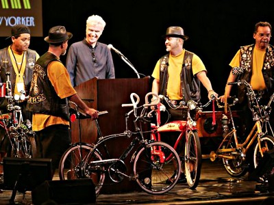 The 2007 New Yorker Festival - How New Yorkers Ride Bikes - David Byrne