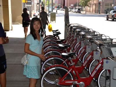 Sistema de alquiler Denver B-cycle
