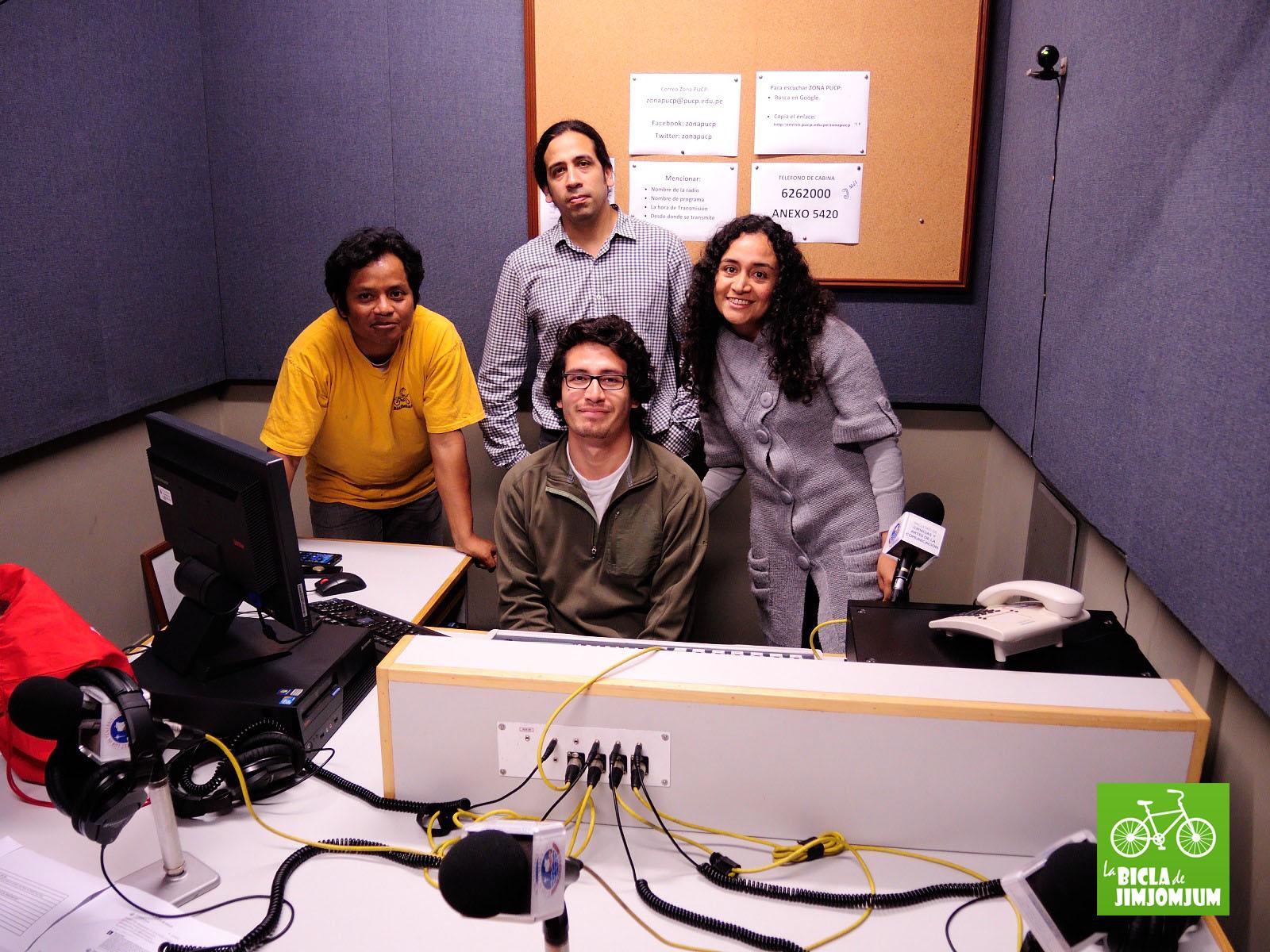 Todo el equipo de #RadioPedalPeru
