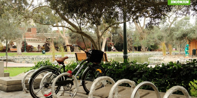 Nuevo cicloparqueadero en parque El Olivar
